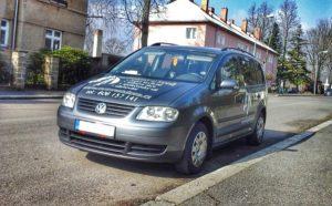 Maxi taxi vozidlo VW